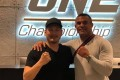 Vitor Belfort (right) is One Championship chairman and CEO Chatri Sityodtong's latest big-name addition. Photo: Twitter