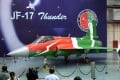 Pakistan and China are jointly producing the Chinese-designed JF-17 Thunder. Photo: AFP