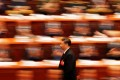 Traders will be listening for stock-moving policy steps out of this week's 'two sessions' gathering. Here, Chinese President Xi Jinping walks to deliver his speech at the National People's Congress in Beijing on March 20, 2018. Photo: Reuters