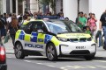 A police car on Oxford Street in London. File photo: EPA