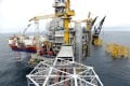 Equinor's oil platform in the Johan Sverdrup oilfield in the North Sea, Norway. Photo: Reuters