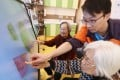 Hong Kong's elderly care homes face a severe staff shortage as the city's population continues to age. Photo: Nora Tam