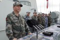 Chinese President Xi Jinping reviews the PLA Navy in the South China Sea last April. Photo: Xinhua