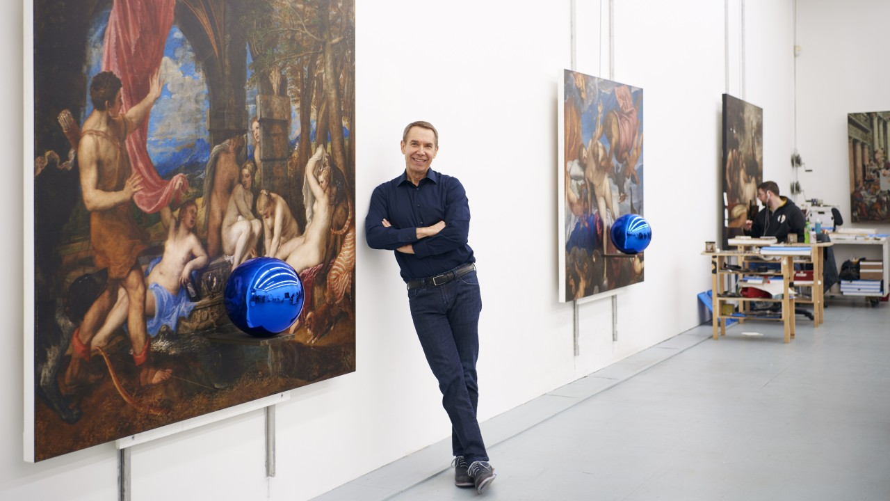 From porn-star wife's nether regions to Balloon Dogs: Hong Kong-bound Jeff Koons talks 'plastic art', selfies and Art Basel