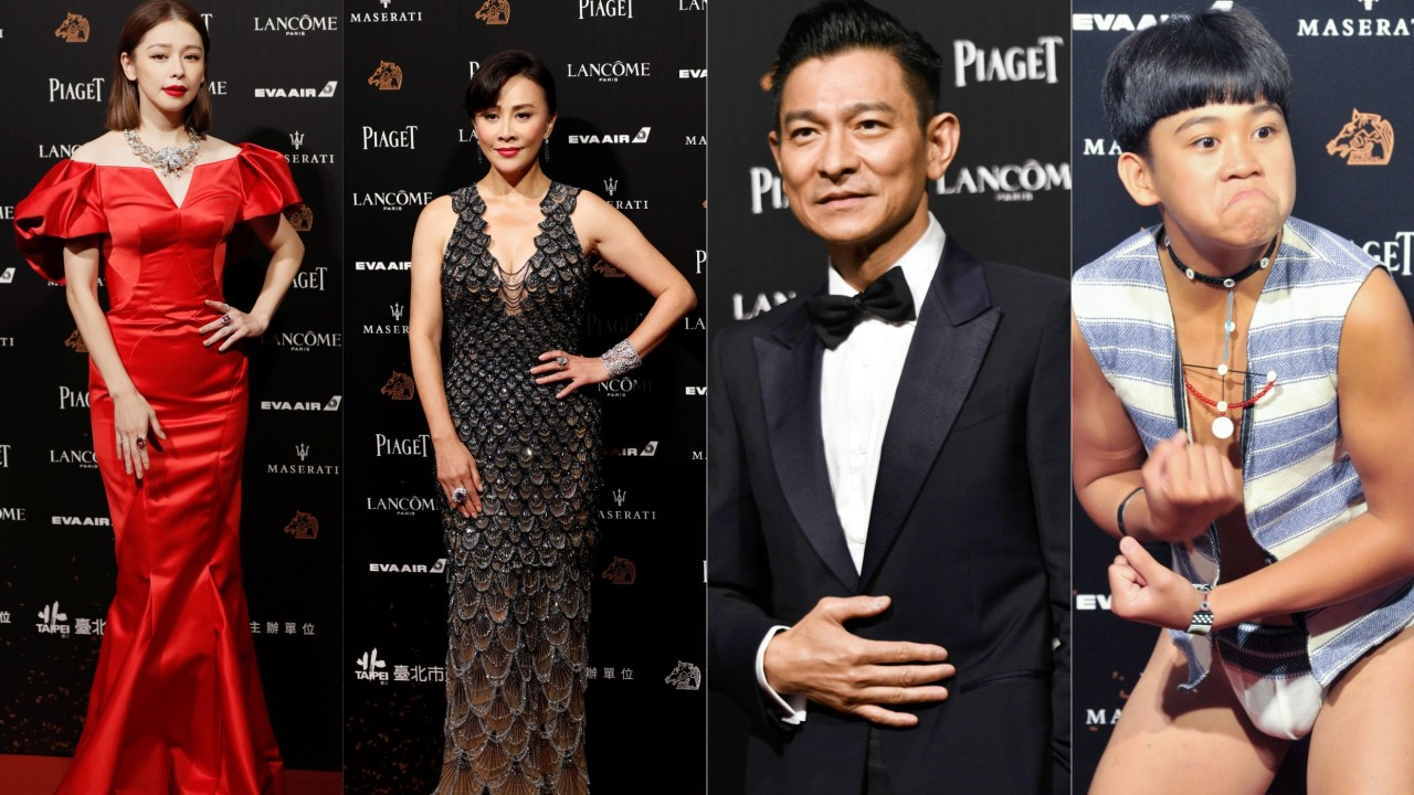 Who made the best and worst dressed list at the 55th Golden Horse Awards in Taipei?