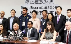 Lawmakers and human rights activists made their call on Monday. Photo: Sam Tsang