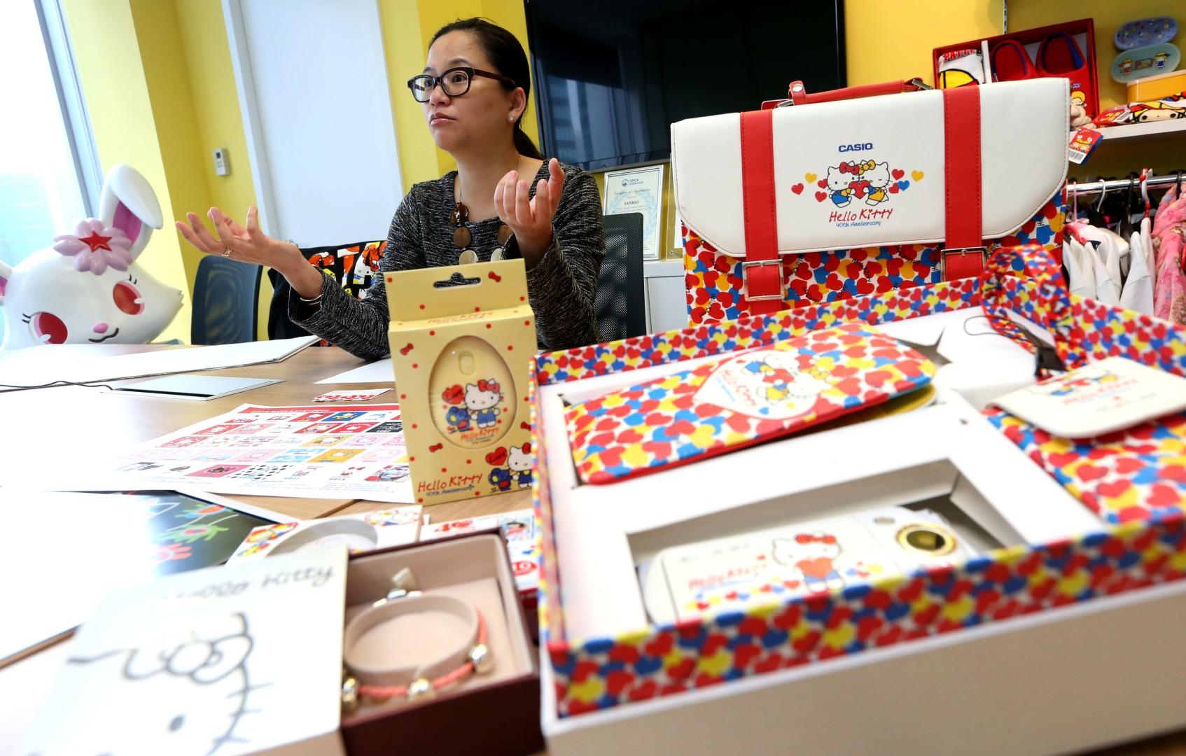 e56263483 Happy birthday Hello Kitty! Superstar cat celebrates 40th anniversary    South China Morning Post
