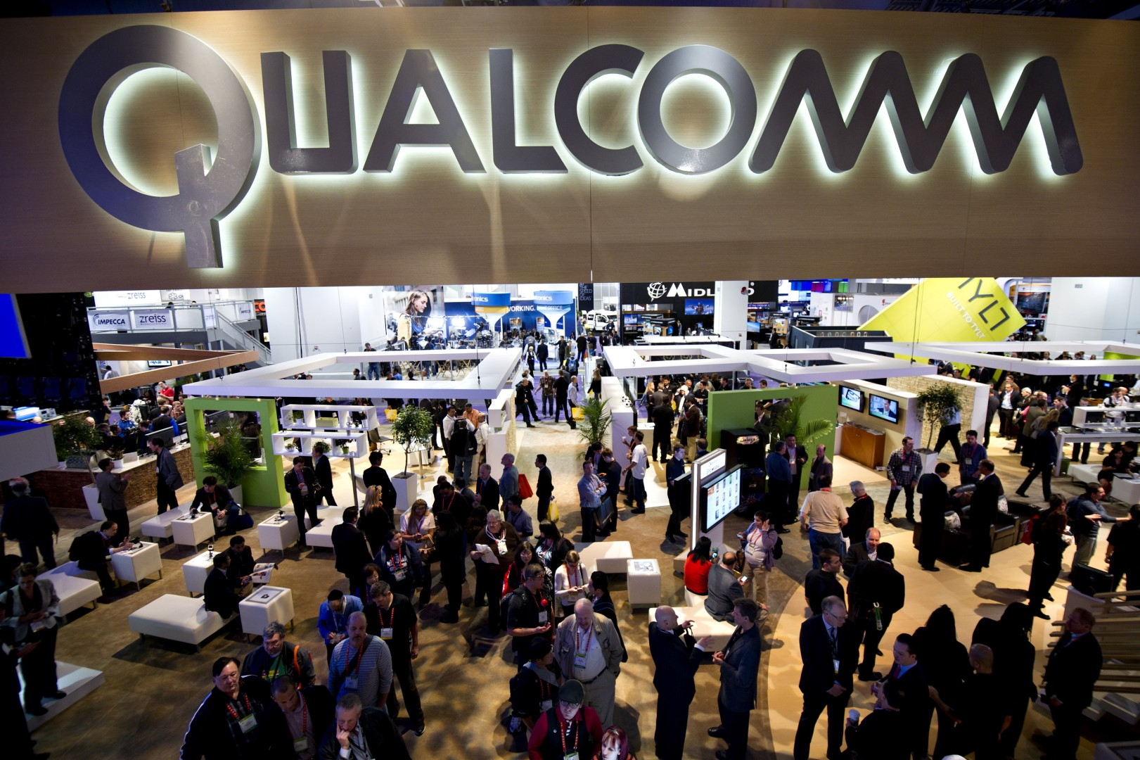 Qualcomm's sales forecast shows that China's smartphone market is on