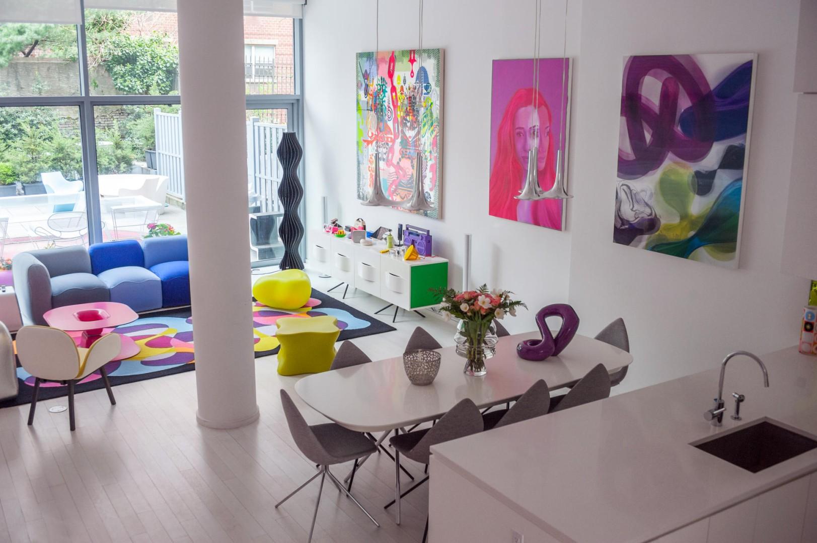 Bo Concept La Garde karim rashid's new home is fun yet practical | south china