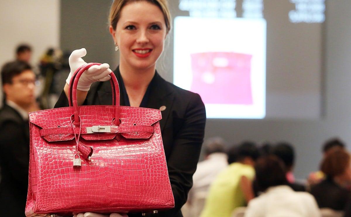 8f76553e34 Hermes Birkin bag sells for world record HK$1.72 million   South China  Morning Post