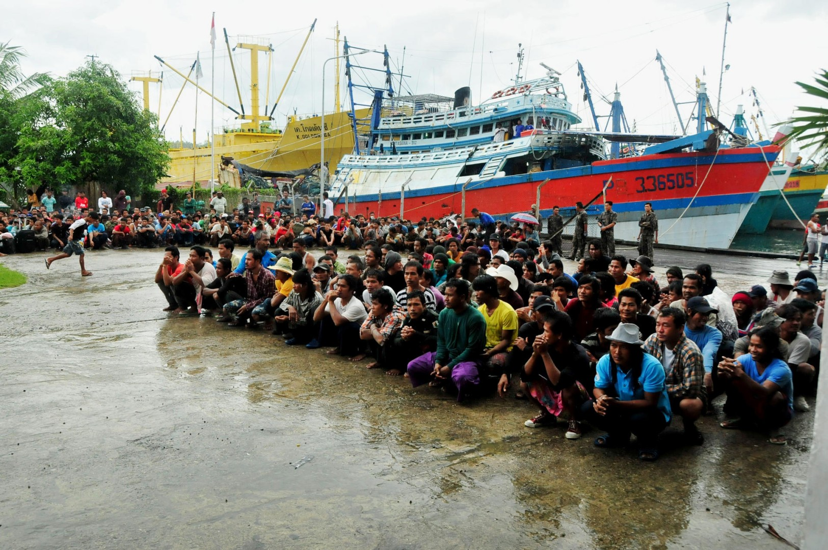 Slavery at sea: human trafficking in the fishing industry