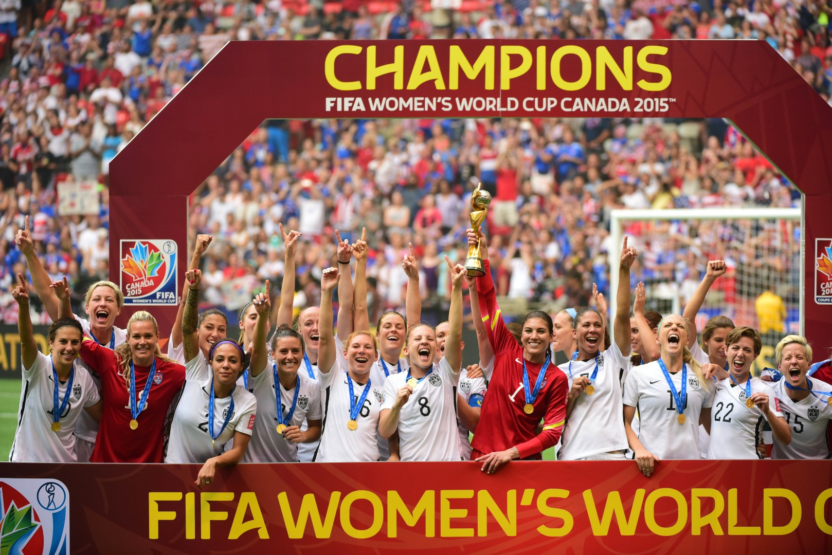 e18f4d5eb10 Carli Lloyd scores hat-trick as United States crush Japan 5-2 to win  Women s World Cup