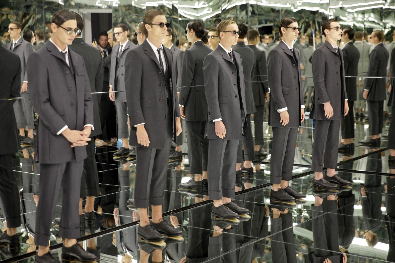 81004bb14e408 New York men s fashion week debut suits designers just fine