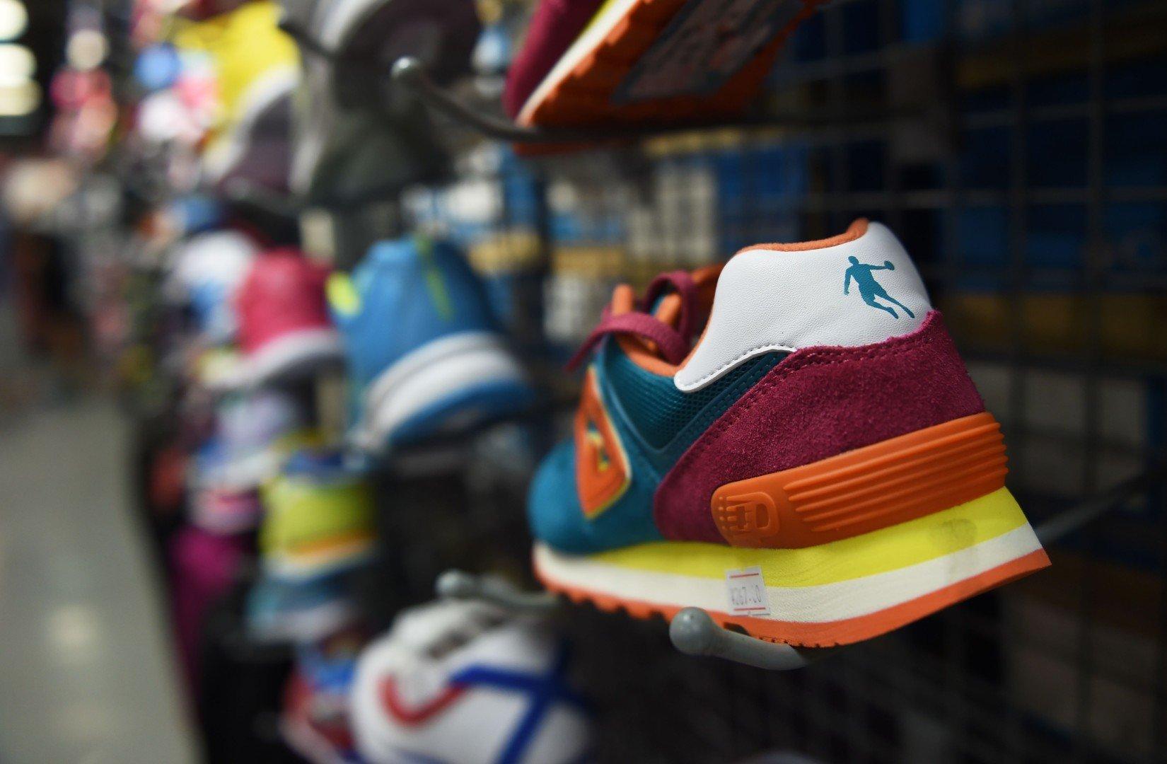 1a2ffc01b0c Chinese swoosh-logo 'Qiodan' shoes don't infringe on Michael Jordan's  famous brand, Beijing court rules | South China Morning Post