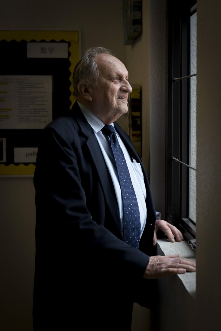 Holocaust survivor Dov Landau gives first-hand account of