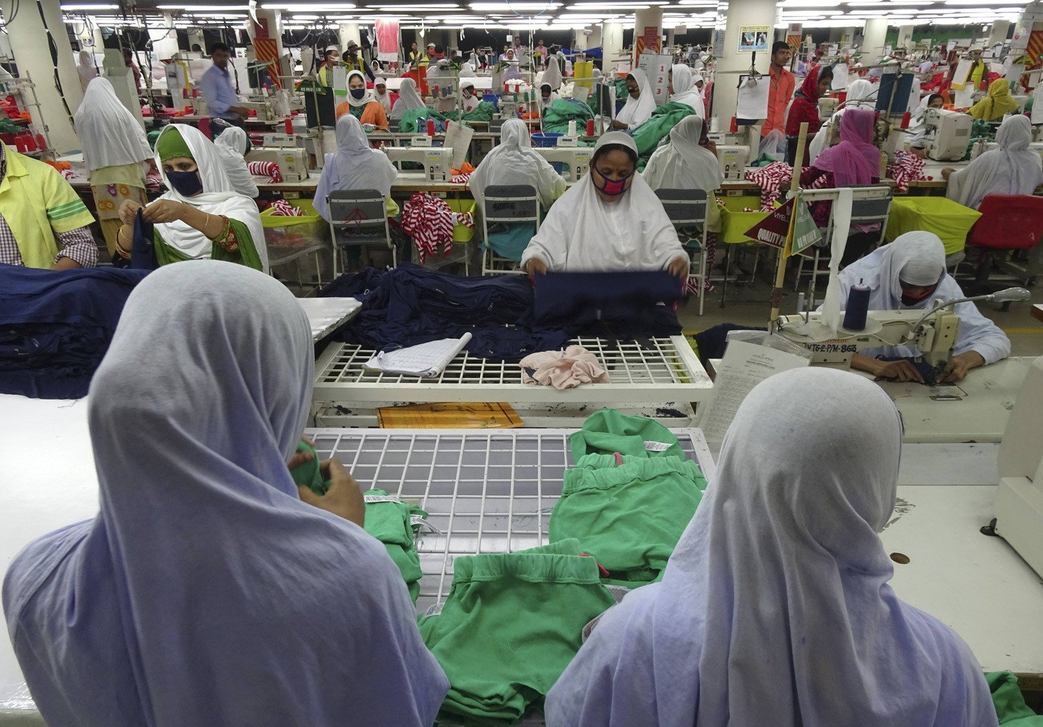 The true cost of your cheap clothes: slave wages for
