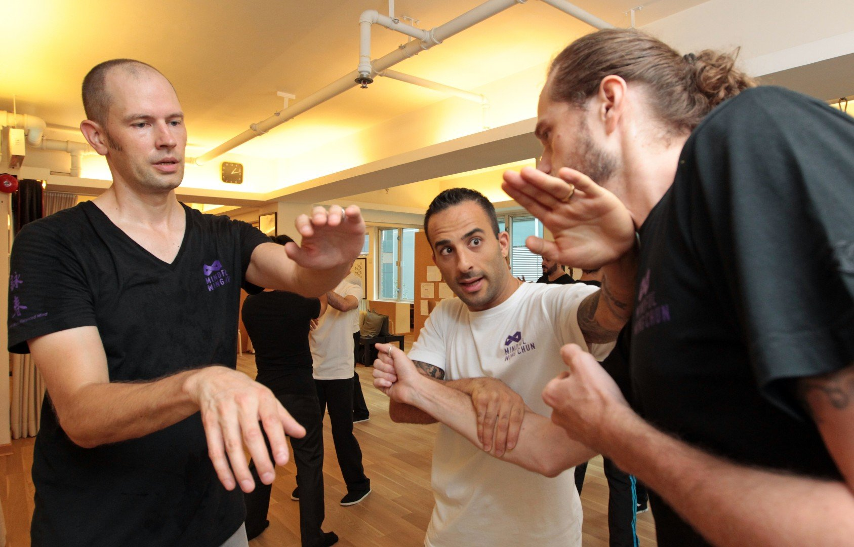 The Ip Man in all of us: classes teach kung fu for Hong Kong office