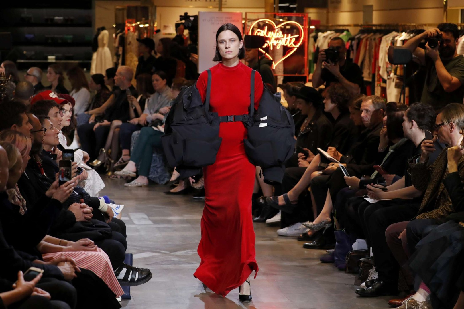27e4586bf0d9 Juicy Couture meets haute couture as fashion rebel Vetements shakes up  Paris