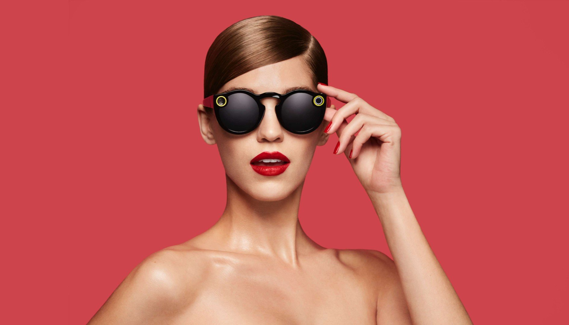 3bf8e1fea69 These sunglasses with built-in camera are Snapchat s answer to Google s  widely mocked and creepy eyewear