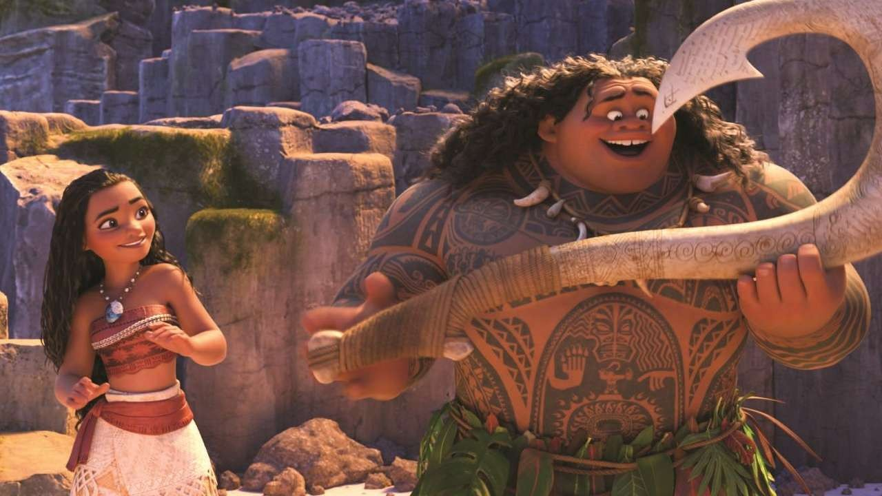 Film review: Moana – a Polynesian princess takes the lead in
