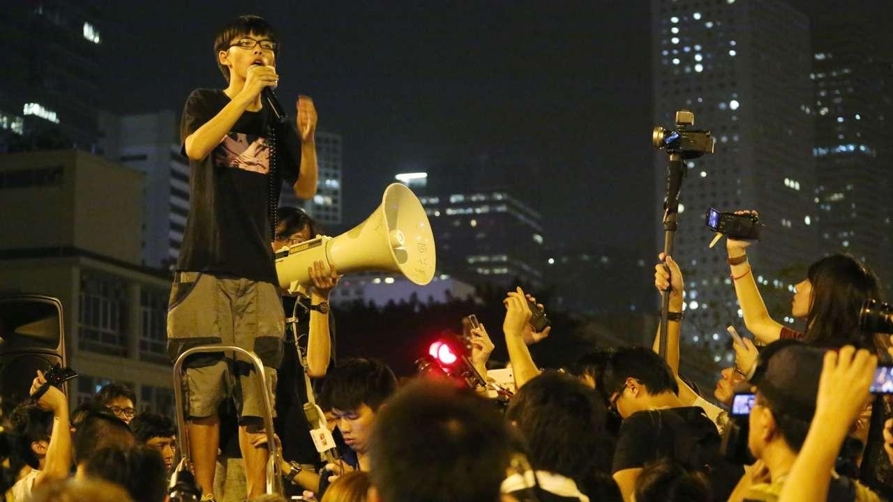 Joshua Wong hopes Netflix airing of Occupy film will raise