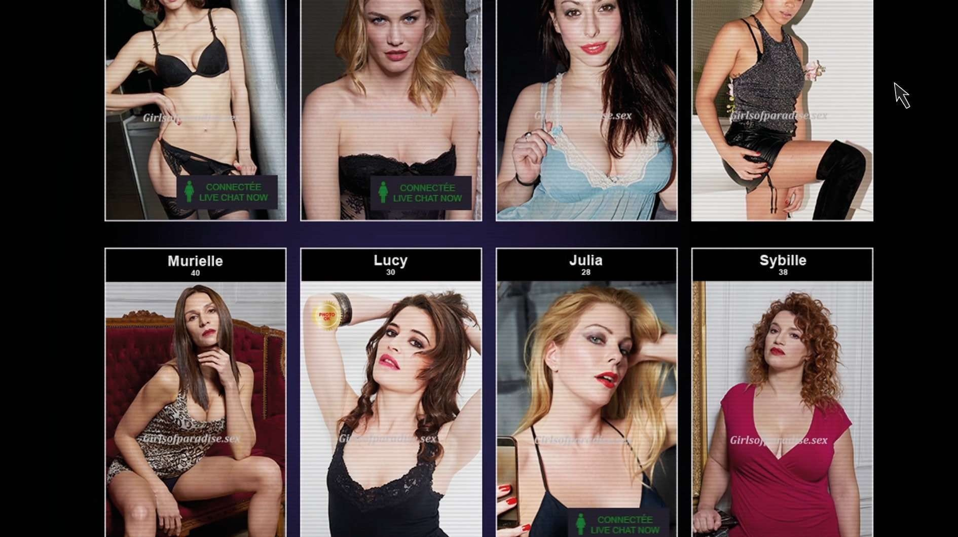 Nude women mpeg samples