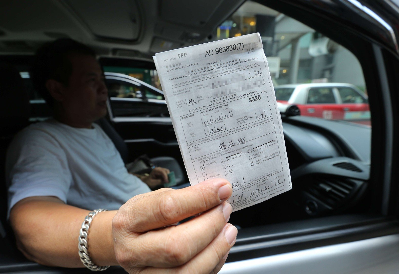 Hong Kong traffic offence fines to rise 50 per cent from