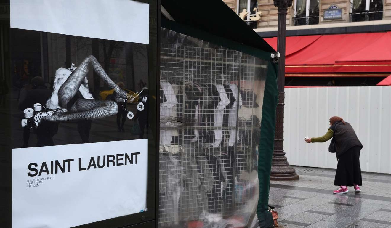 b5ad0612e81 'Porno chic': fury over 'degrading' Yves Saint Laurent fashion ad campaign    South China Morning Post