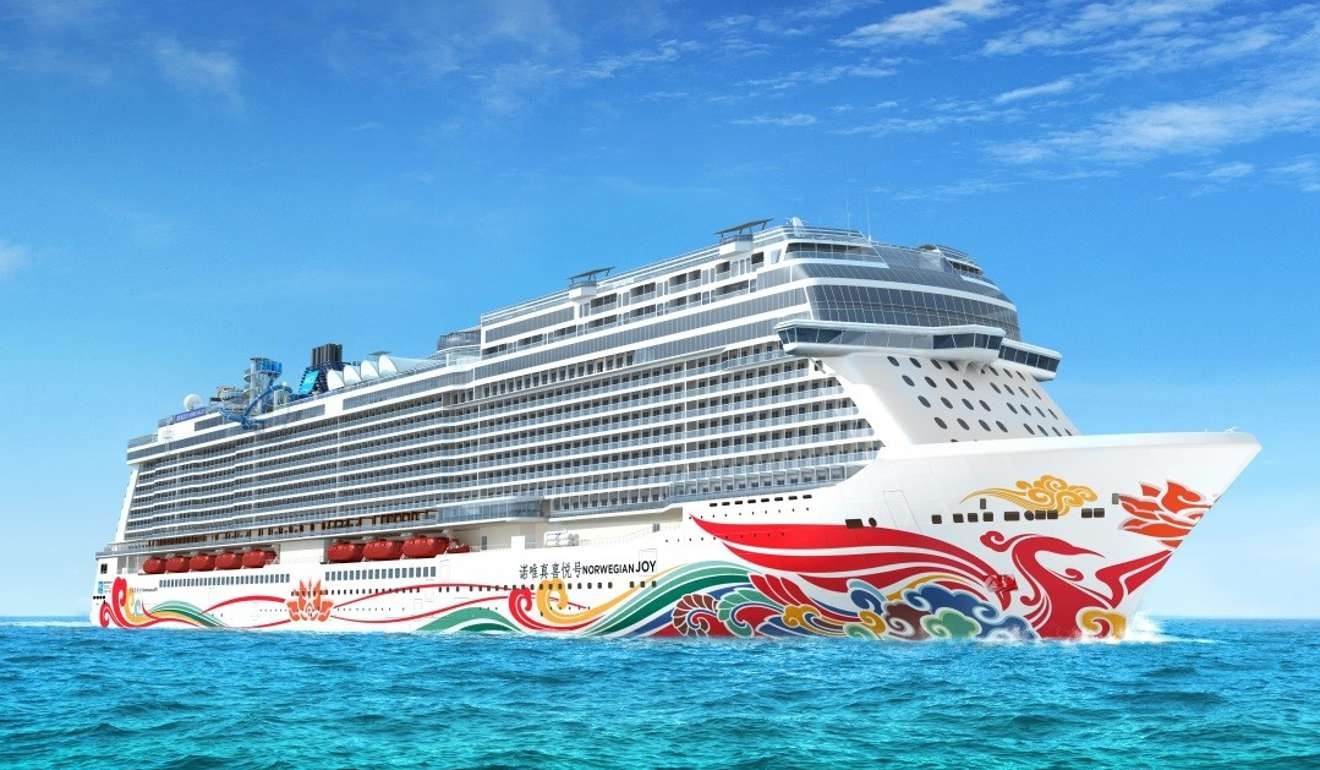Ferrari builds world's first racetrack on a cruise ship for