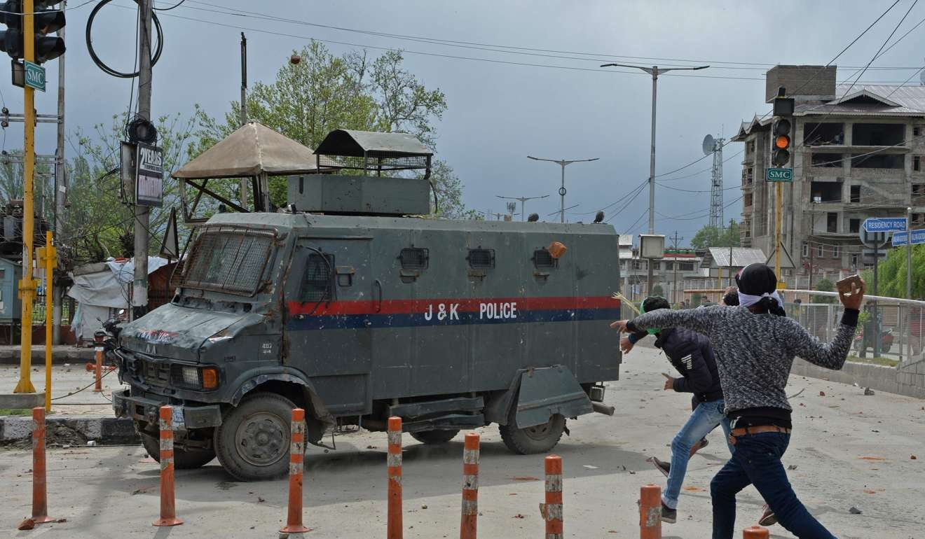 The new weapon in India's Kashmir conflict? Teenage girls