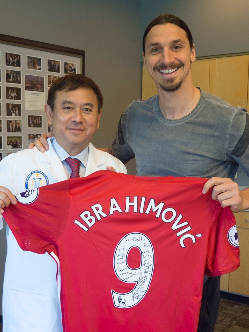 324c503bf Exclusive  Zlatan Ibrahimovic will play on for  many years  says Hong Kong  surgeon who saved Manchester United star s knee