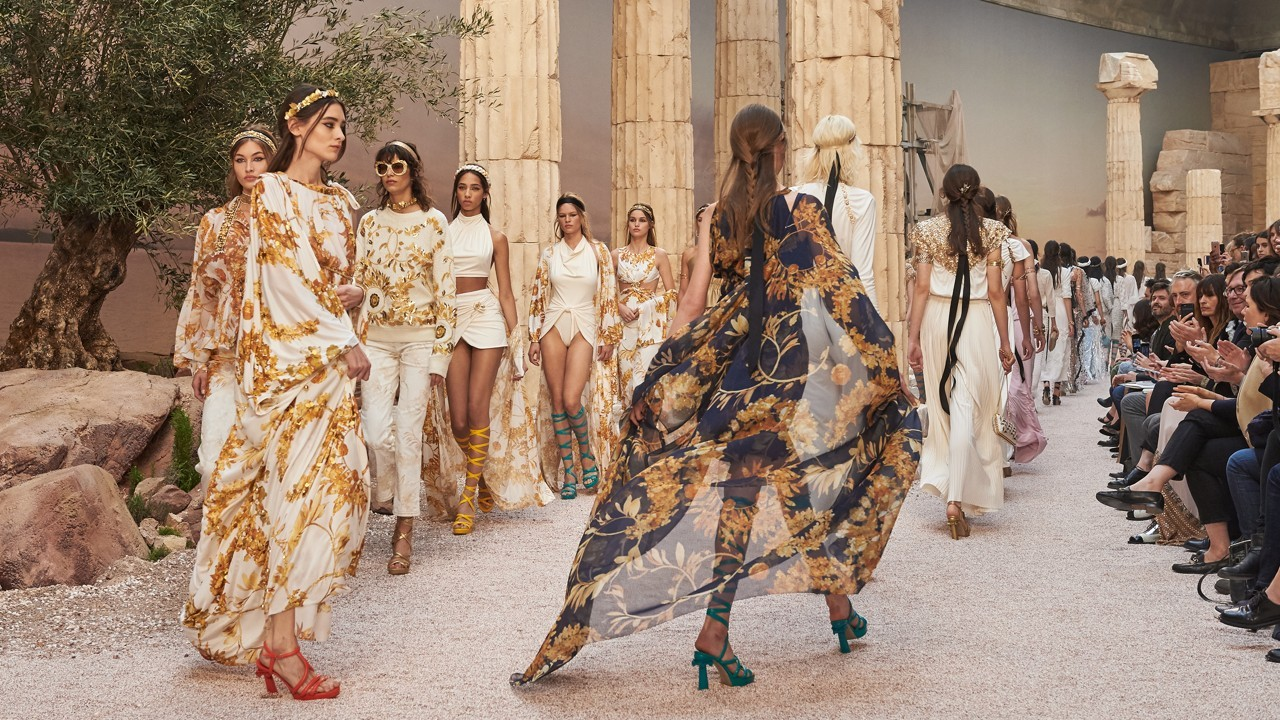 d8fbc8b3dd90 Chanel s Cruise Collection inspired by Greek mythology