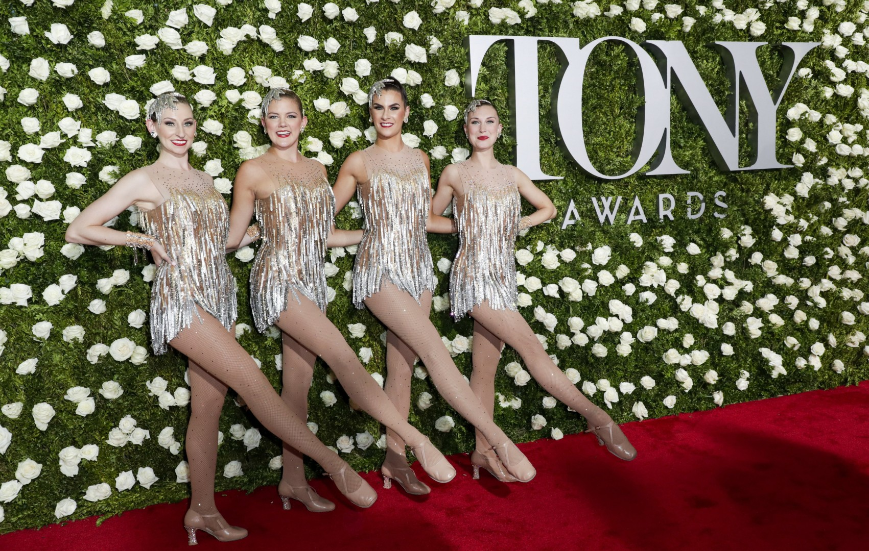 e2851d29aa4 Tony Awards 2017  red carpet sparkles  Kevin Spacey kicks off with gentle  humour