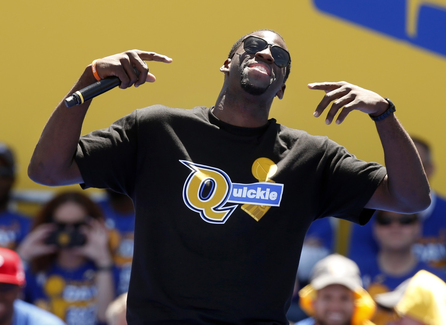 efb56f38dfe Warriors  Draymond Green mocks Cavaliers with T-shirt ... but LeBron James  fires back