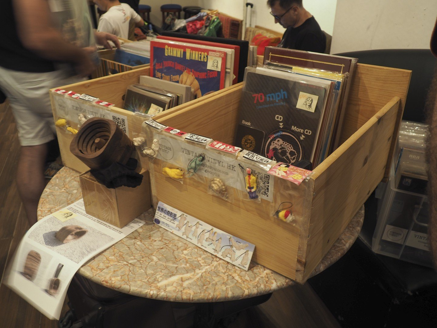 Monthly pop-up sale spurs Hong Kong vinyl records revival