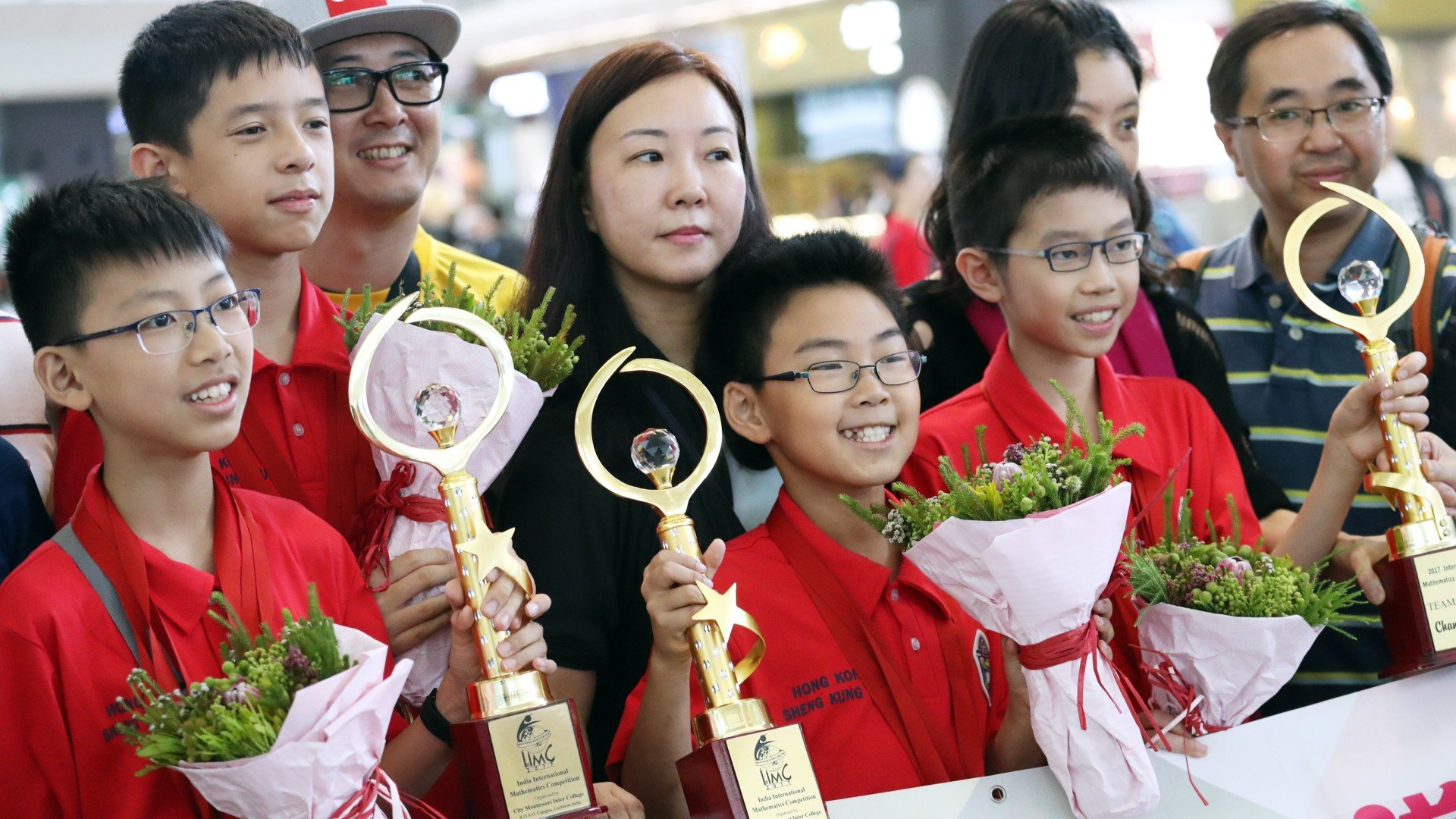 In first for Hong Kong, primary school pupils strike gold at