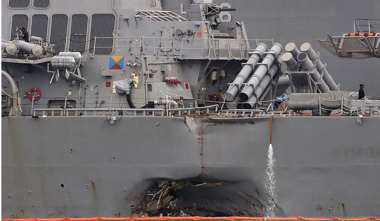 Commander of 7th Fleet relieved of duty as US Navy weighs