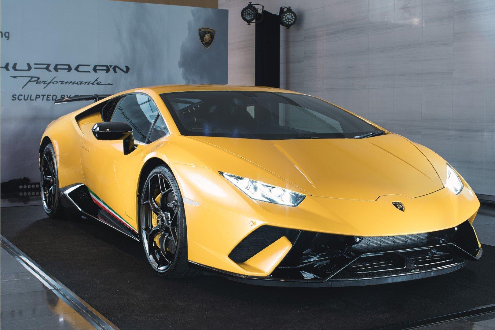 Lamborghini S Huracan Performante Debuts In Hong Kong South China