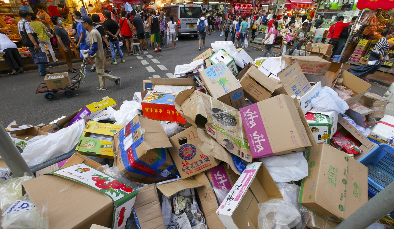 Cardboard collectors struggle as prices fall amid strike by