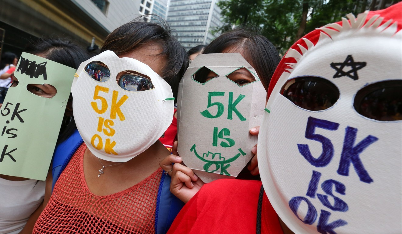 3bf2ea7b4577 Minimum wage for foreign domestic helpers in Hong Kong raised by 2.3 per  cent