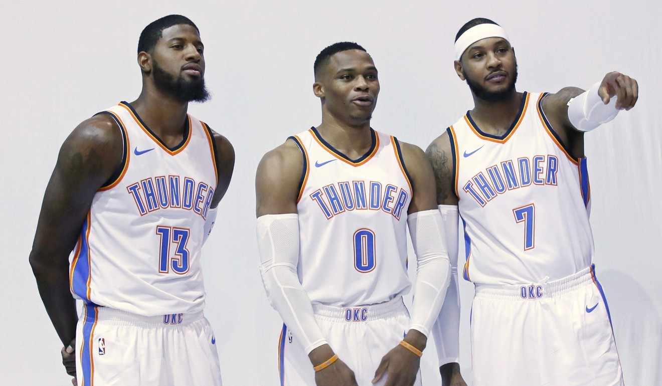 bba41c3991c3 Russell Westbrook signs bumper US 205m deal to stay at Thunder – and become  highest-paid player in NBA