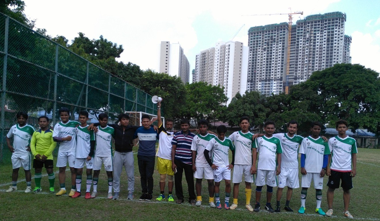 8c31cc3b813 Rohingya Football Club refugee team seek to raise awareness of suffering  through soccer