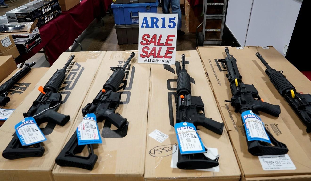 US church criticised for raffling AR-15 semi-automatic