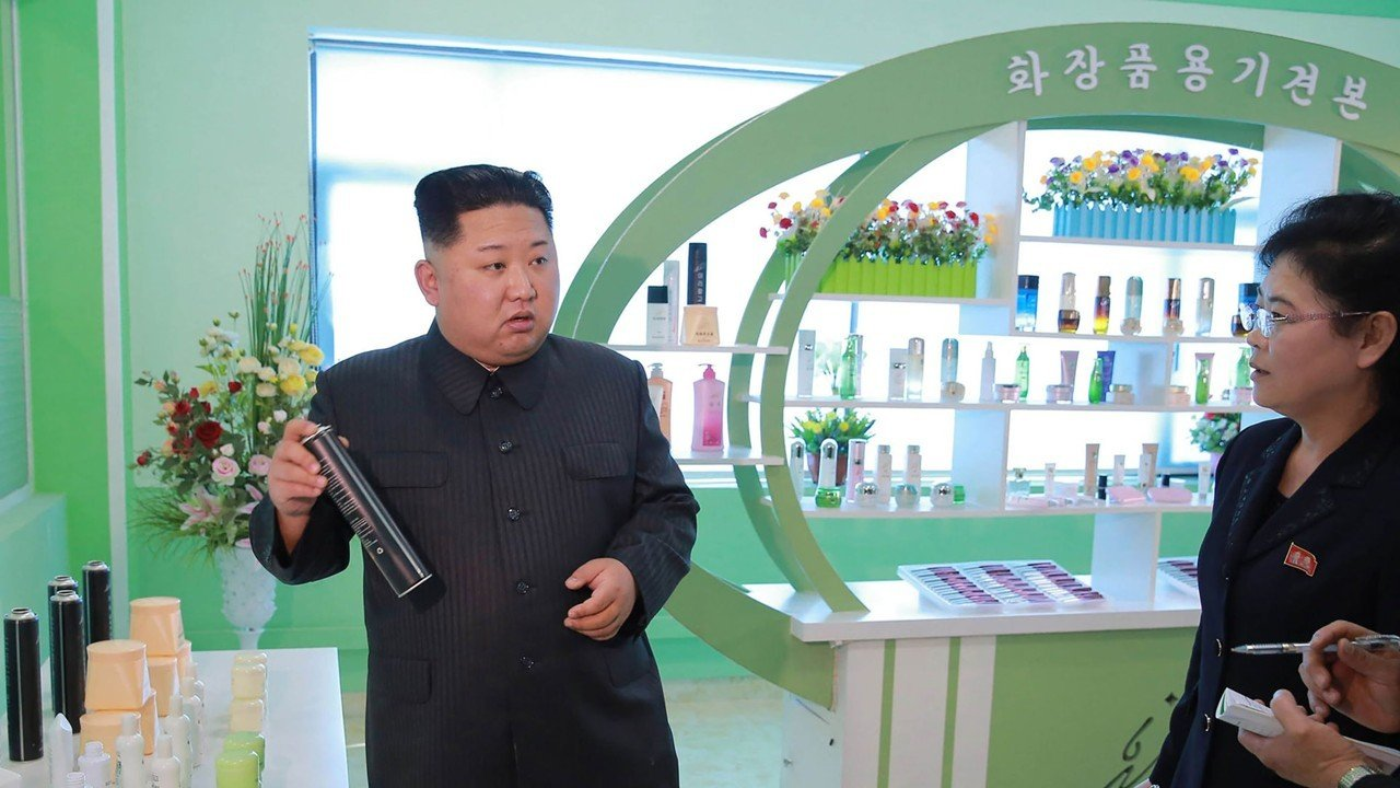 Kim Jong-un helps make women beautiful again with 'field guidance