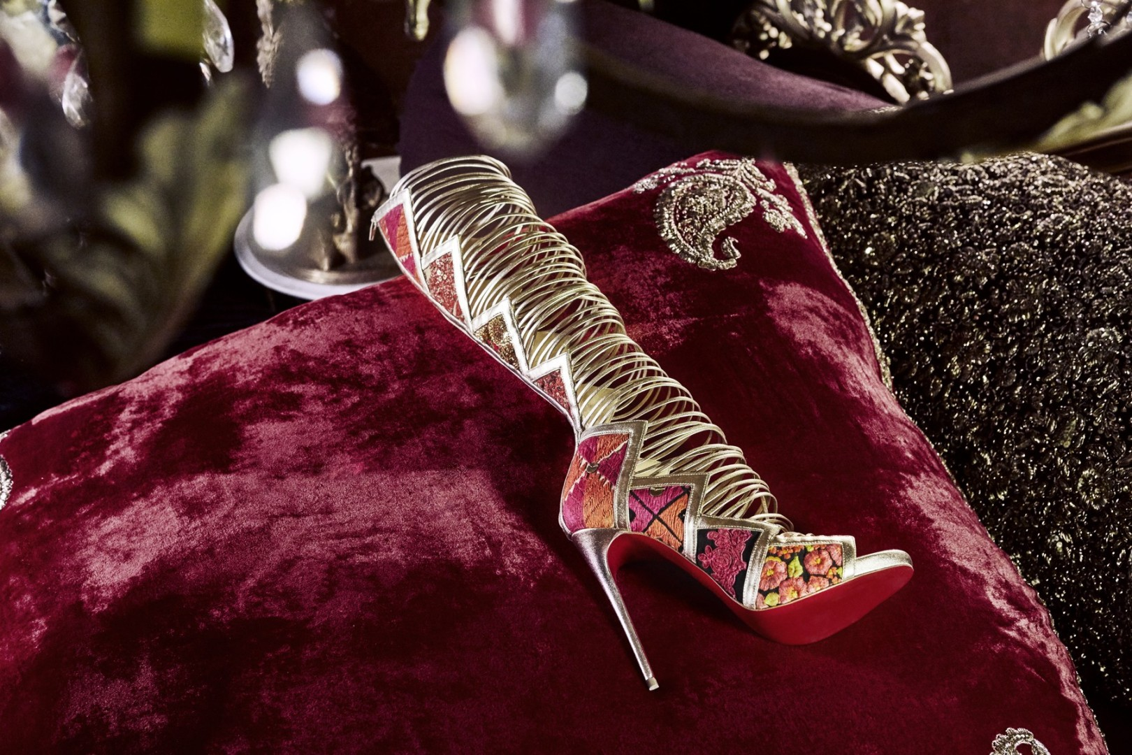 55cc9e9423c1 Why Christian Louboutin and Sabyasachi team-up is more spikes than saris