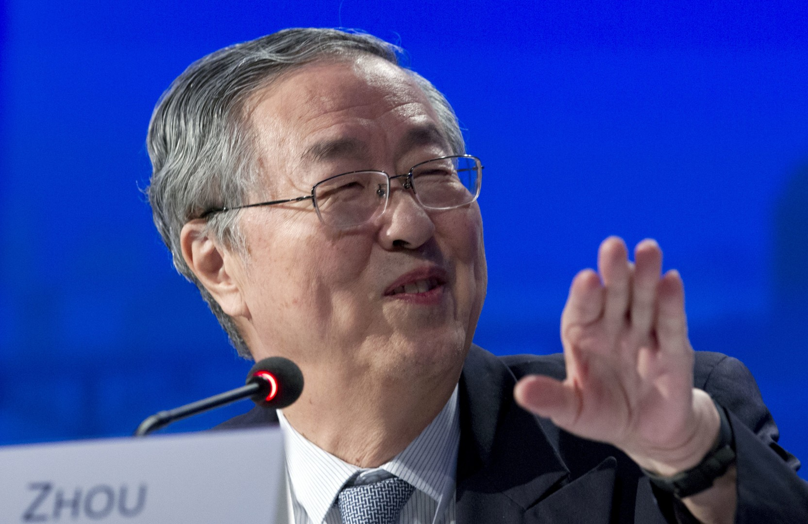 China's central bank chief lays out plans to avert future