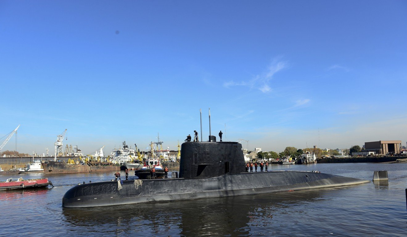 Argentina's navy says undersea sounds didn't come from