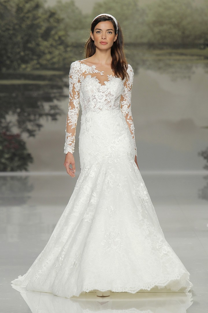 5b7fbe62843 Modesty makes a comeback in bridal fashion as wedding gowns trend towards  the demure