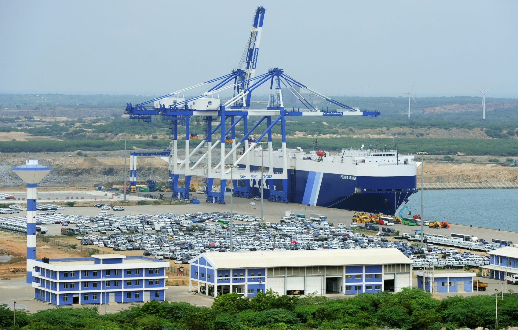 Sri Lanka hands over running of Hambantota port to Chinese