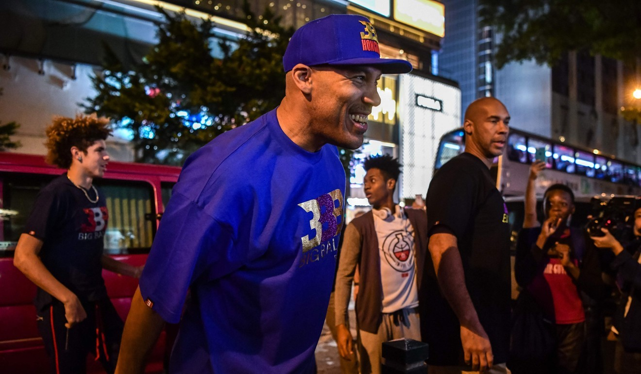 a4249a514 LaVar Ball brings plenty of attention but also business savvy as ...